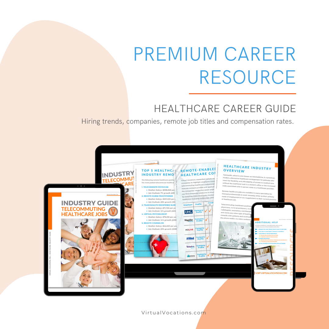 Remote Healthcare Career Guide