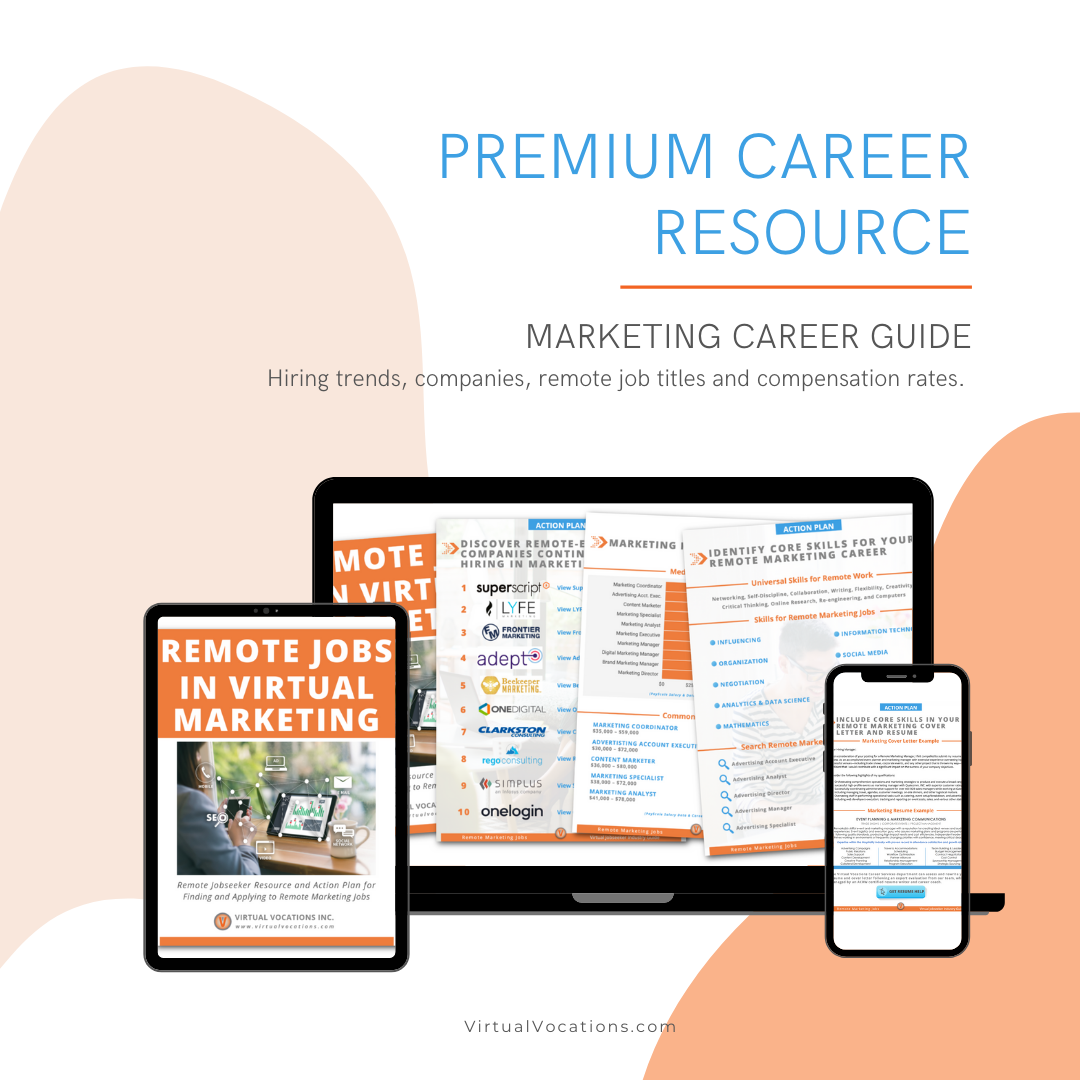 Remote Marketing Career Guide