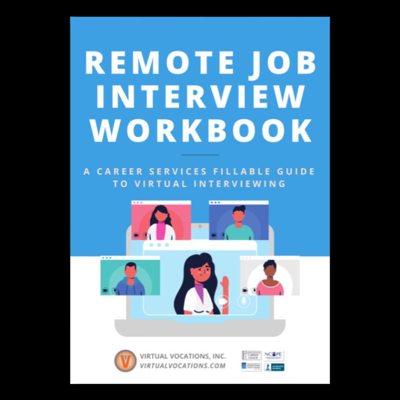 Remote Job Interview Workbook