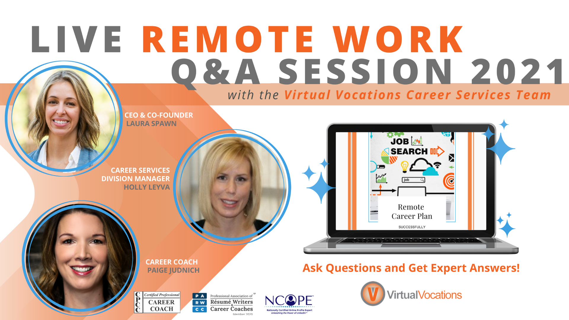 Remote Work & Job Search Planning Live Q&A