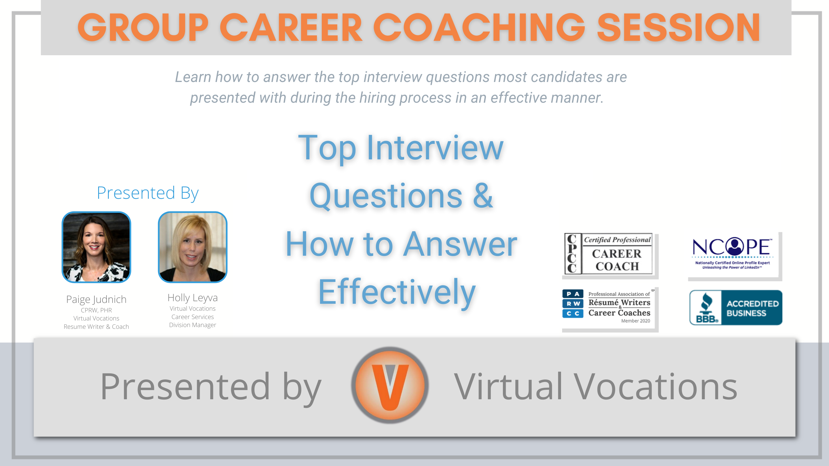 Top Interview Questions & How to Answer Effectively