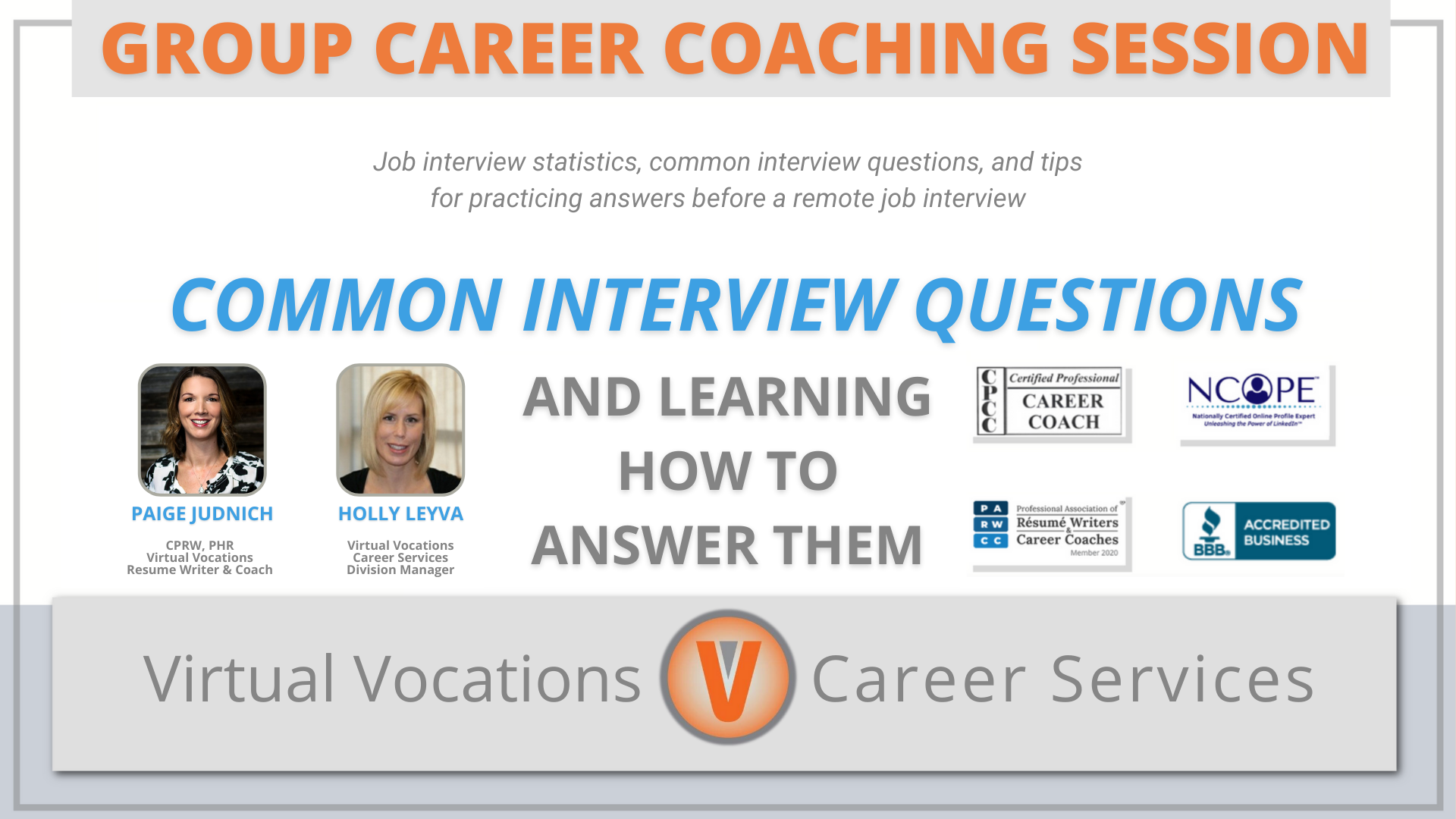 Interview Series Part Two: Common Questions & Learning How To Answer Them