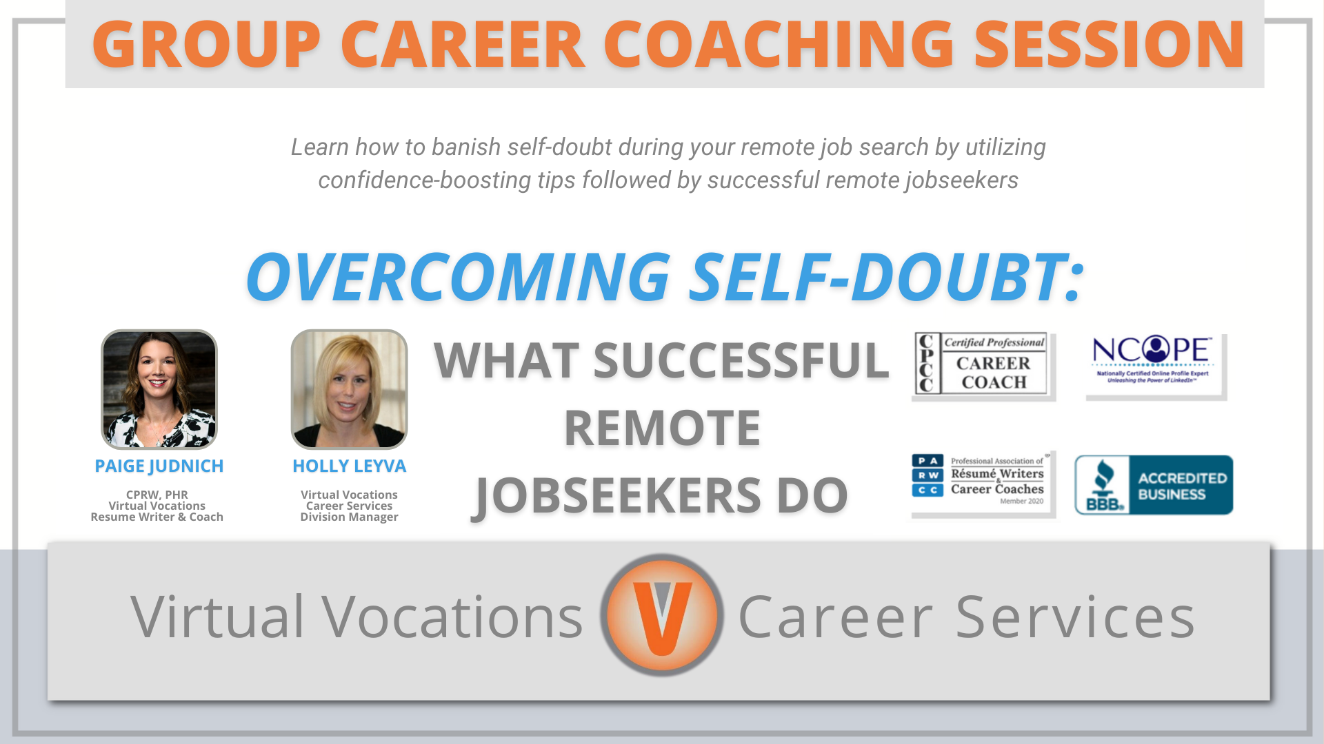 Overcoming Self-Doubt: What Successful Remote Jobseekers Do