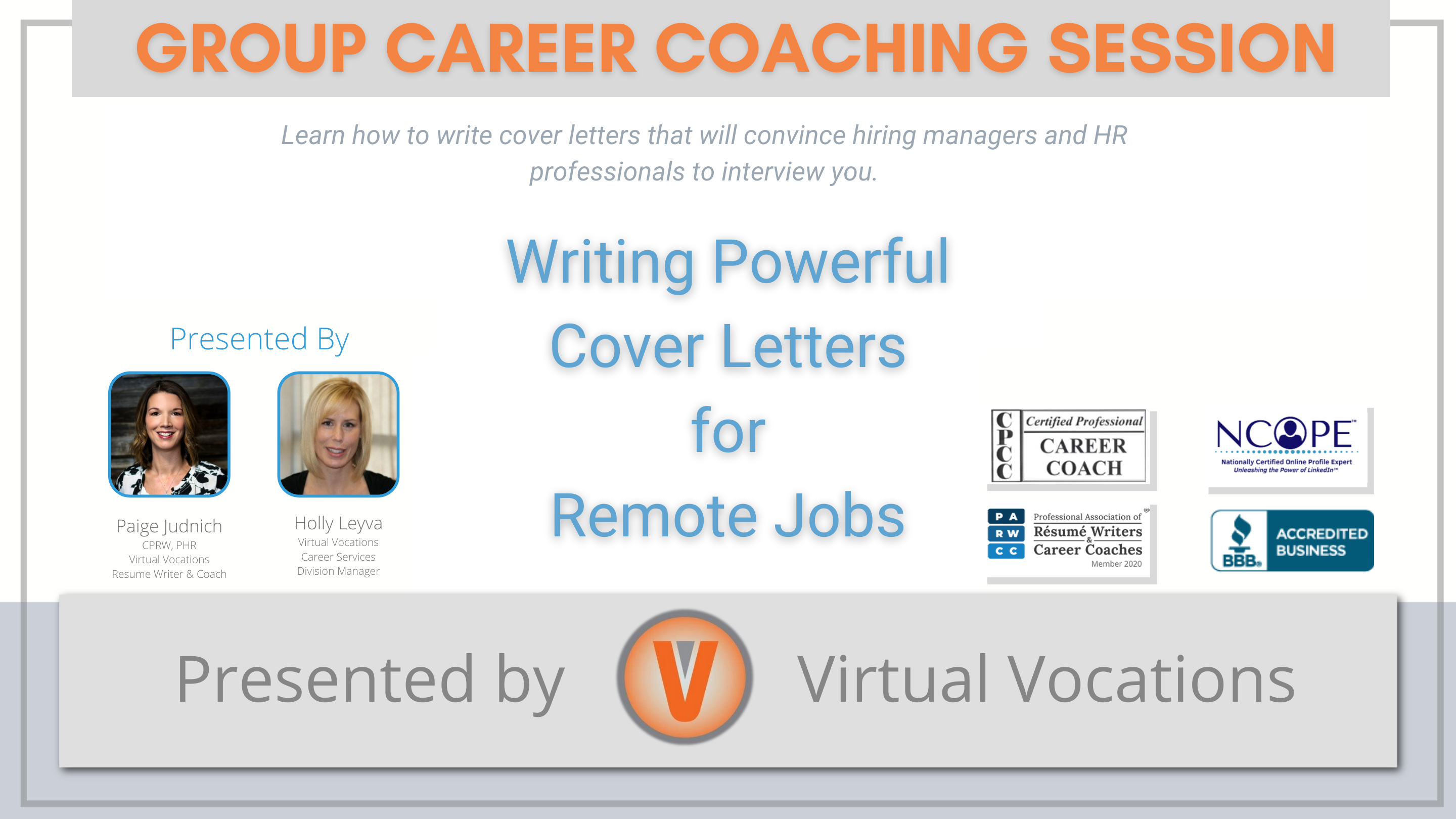 Writing Powerful Cover Letters for Remote Jobs